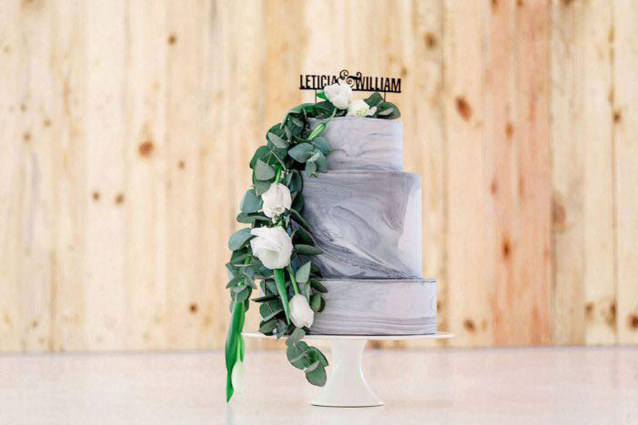 Honey Bee Wedding Cake Topper