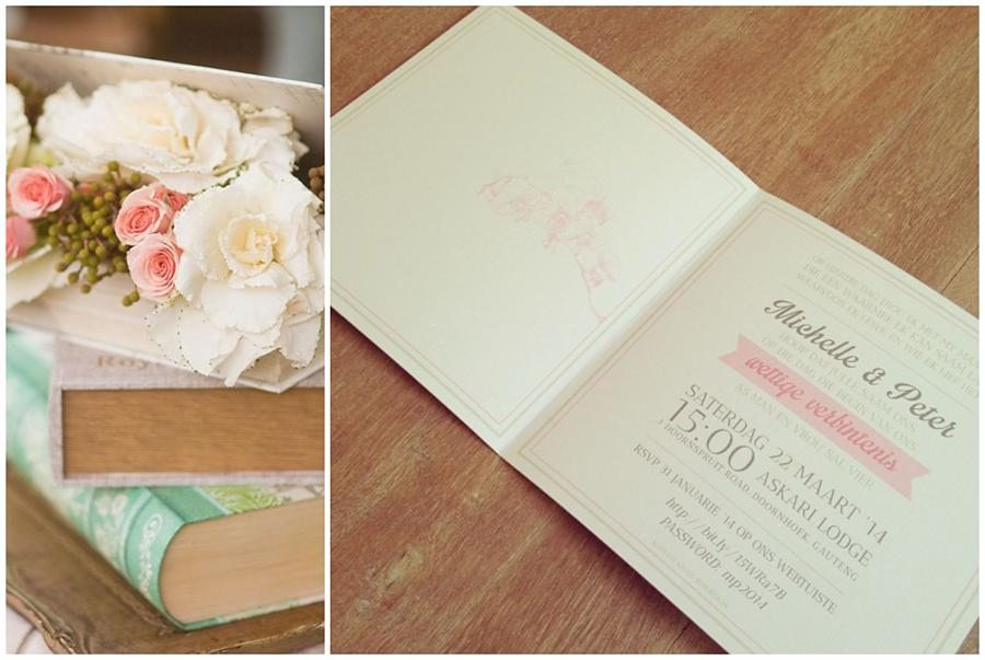 I Do Creative Concepts - Johannesburg Wedding Invitations - Pink Book