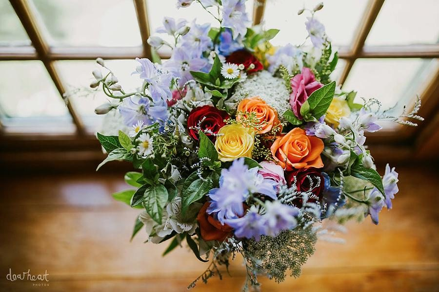 ivy blue - cape town wedding flowers