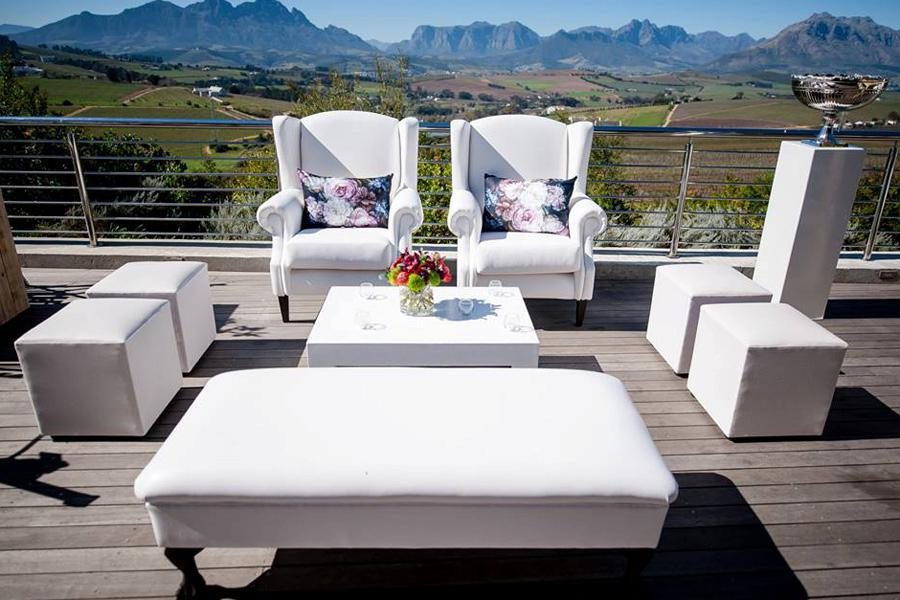 Cape Winelands Wedding Furniture Hire