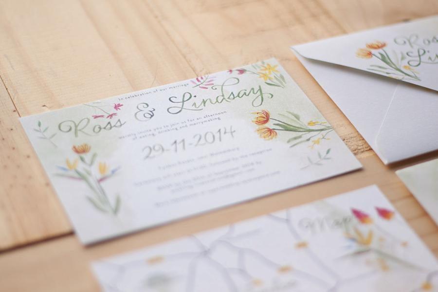 Susan Brand Design - Paarl Wedding Invitations - Pink Book
