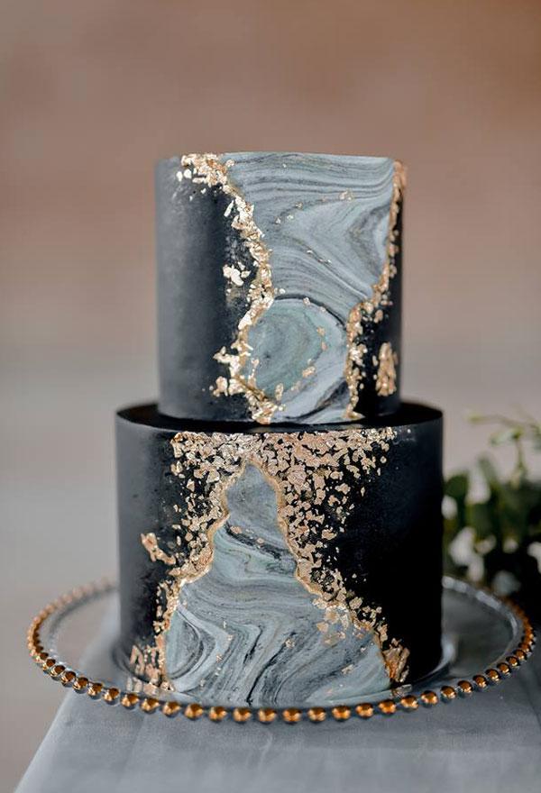 Sweetly Detailed Wedding Cakes