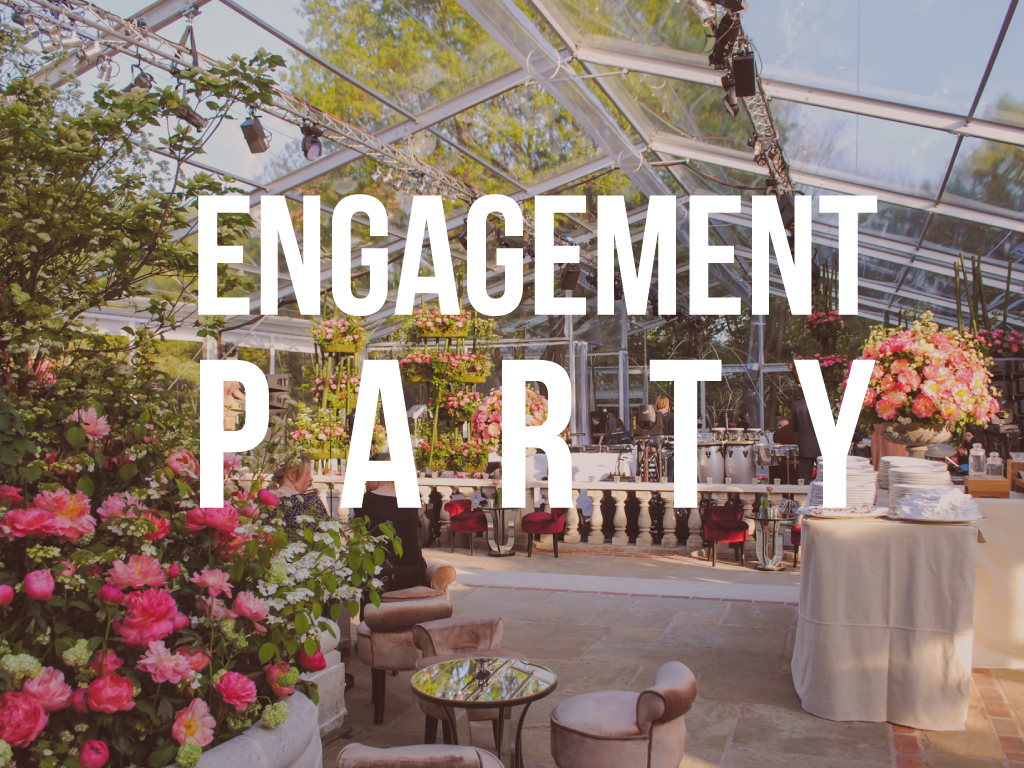 Entertaining Engagement Party Ideas
