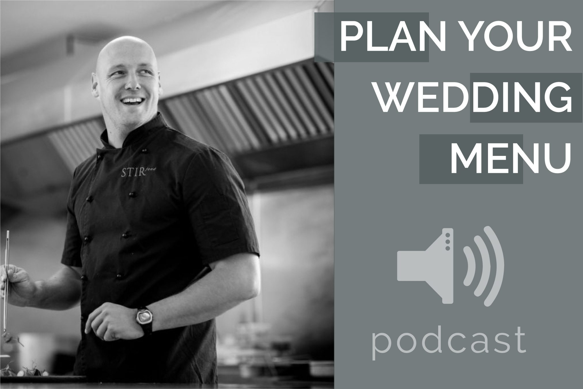 Pink Book Wedding Podcast Episode 3 - Wedding Menu Plan