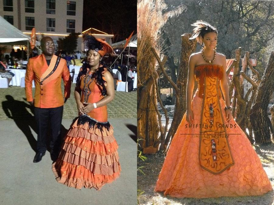 Johannesburg Traditional Wedding Dresses
