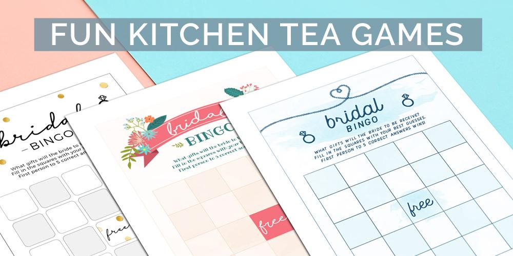 Fun Kitchen Tea Games Ideas To Entertain Your Bride To Be Pink Book