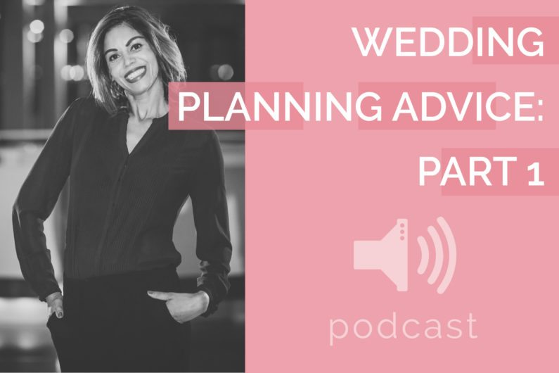 #10 - Tracy Branford - Wedding Planning Advice Part 1