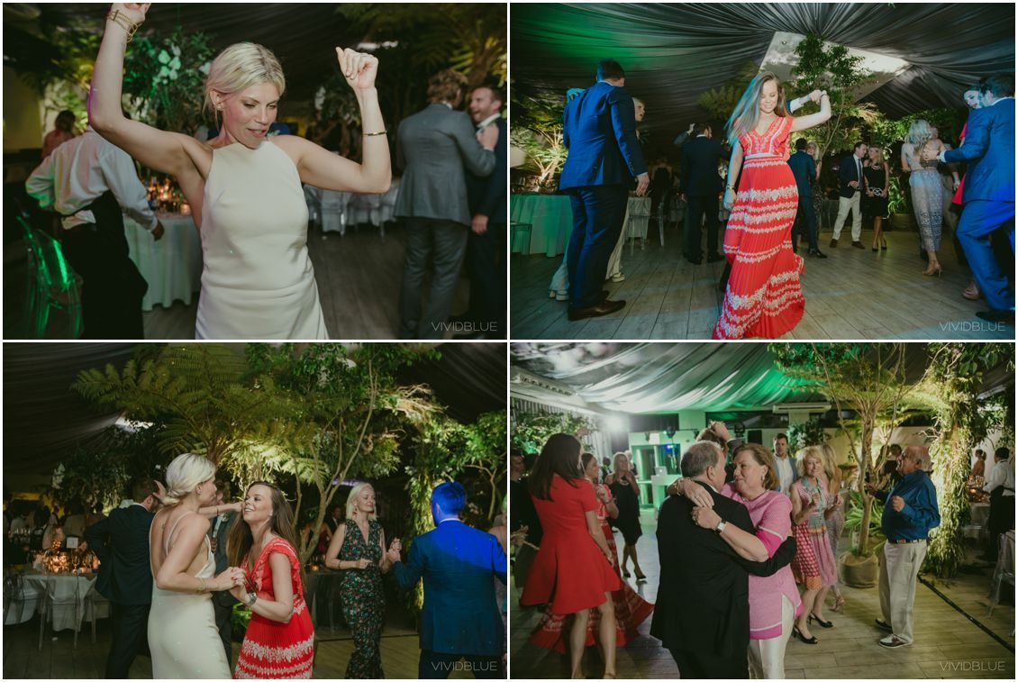 African Theme Wedding Cape Pint Vineyards Dancing