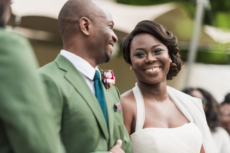 An Intimate African Wedding