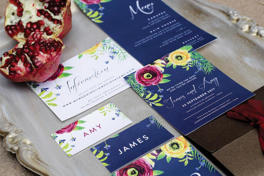Bree Creatives - Cape Town Wedding Stationery