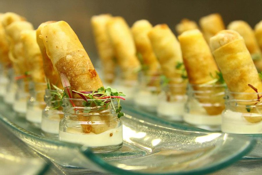 Copper kettle catering cape winelands wedding catering for Canape platters cape town
