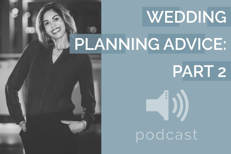 #14 - Tracy Branford - Wedding Planning Advice Part 2
