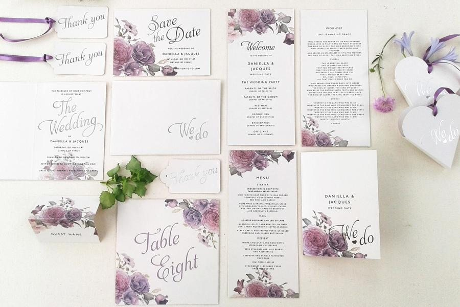 The invitation gallery cape town wedding stationery pink book cape town wedding stationery stopboris Images