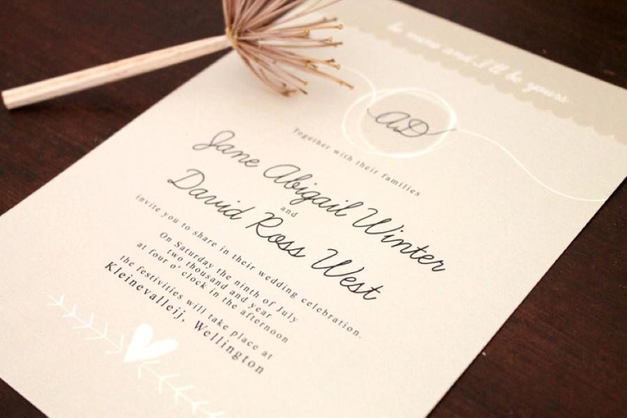 The Invitation Gallery - Cape Town Wedding Stationery - Pink Book