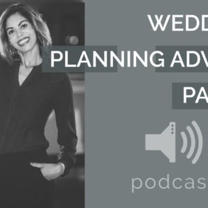Wedding Planning Advice Podcast with Tracy Branford