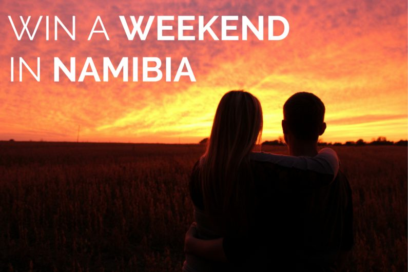 Win a Romantic Weekend in Namibia
