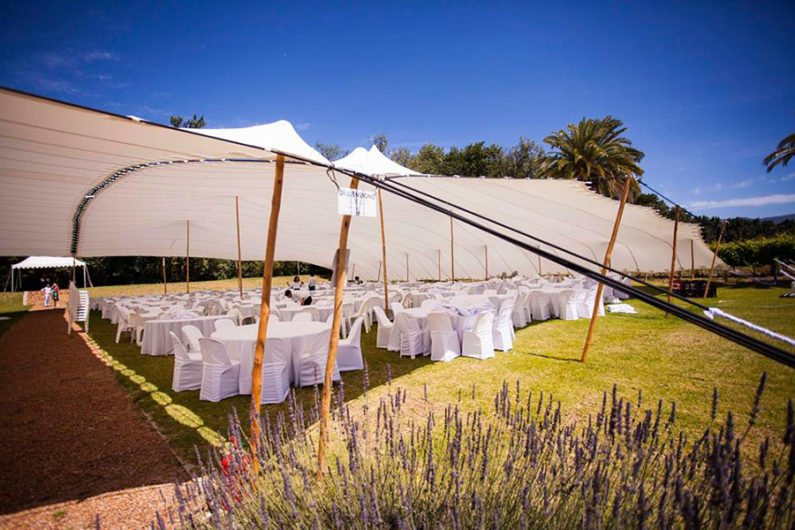 Dimensions Tents Somerset West Wedding Tents