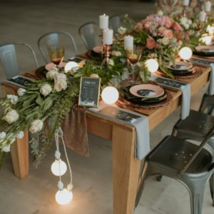 Industrial Wedding Decoration Ideas