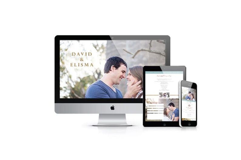 My Big Event Online Wedding Websites & Apps