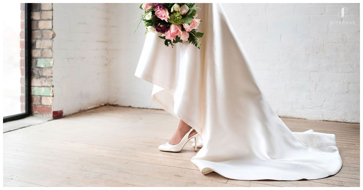 5 tips to remember when buying your bridal shoes pink for Heels for wedding dress