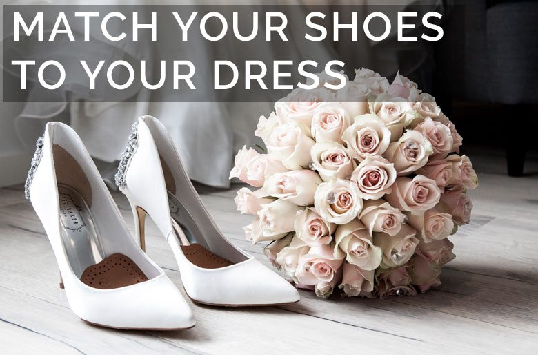 48fae9ccfbe Finding the Perfect Wedding Shoes to Match Your Dress | Pink Book SA