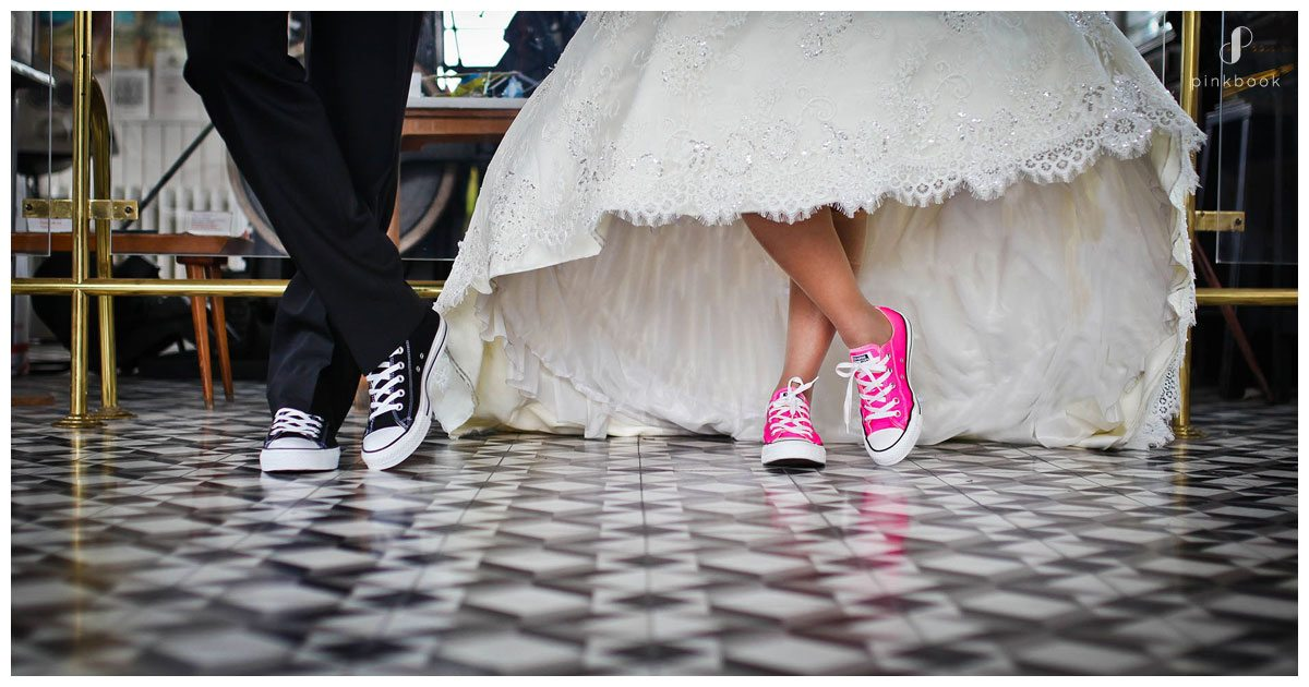 wedding shoes sneakers all stars