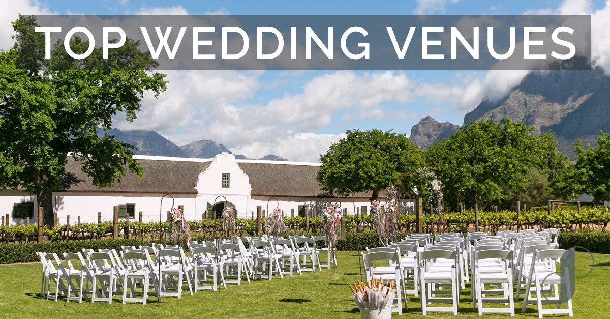 Top wedding venues south africa small venues large venues for Places to have a small wedding