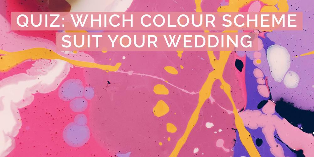 quiz which wedding colour scheme