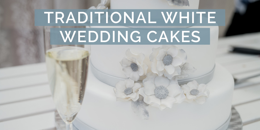 traditional white wedding cakes