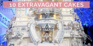 10 Most Extravagant Wedding Cakes