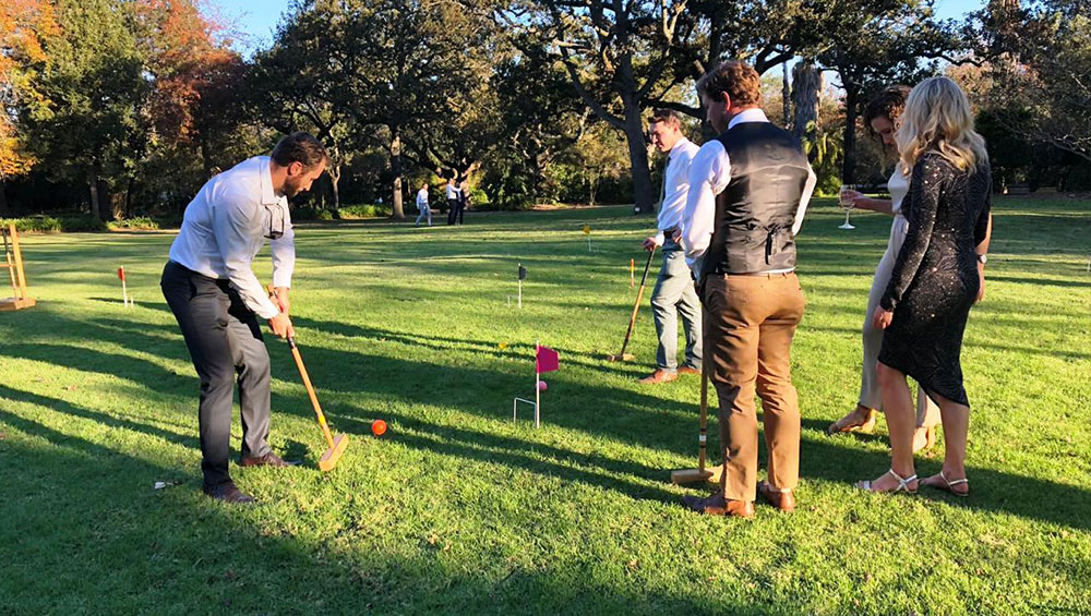 Mr and Mrs M Wedding & Lawn Games