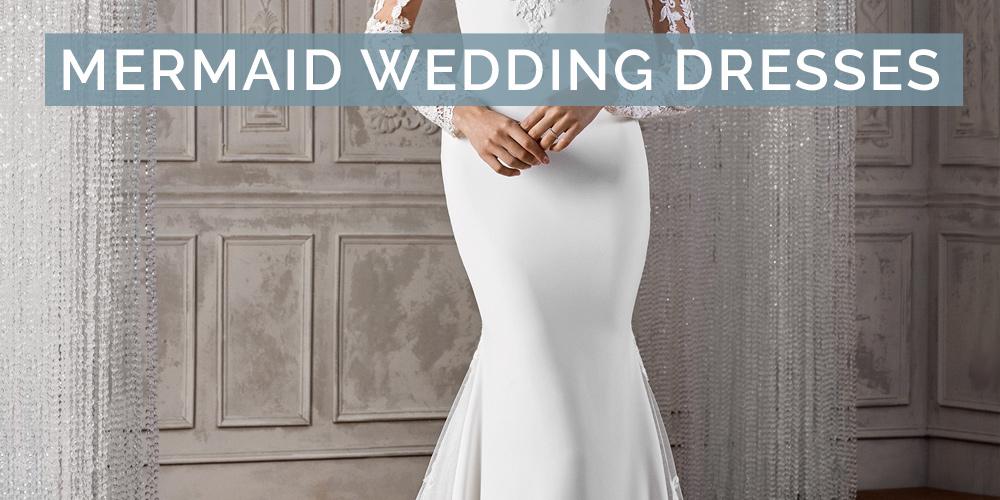 Mermaid Wedding Dress 20 Stunning Designs L Pink Book Weddings