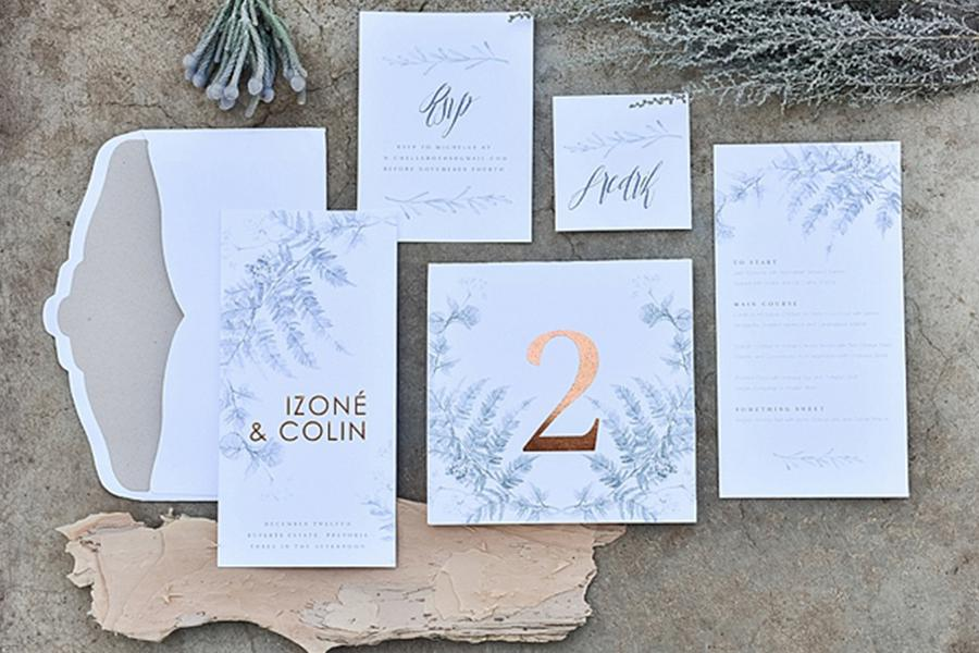 Secret Diary - Cape Town Wedding Invitations & Stationery