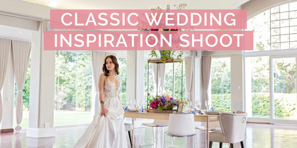 Classic Wedding Styled Shoot with Anna Georgina Dress