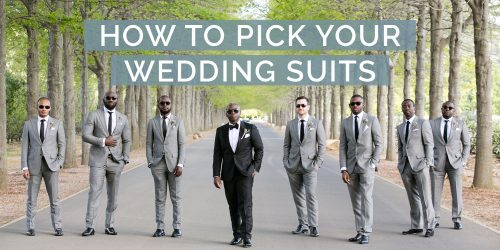 How To Pick the Wedding Suits