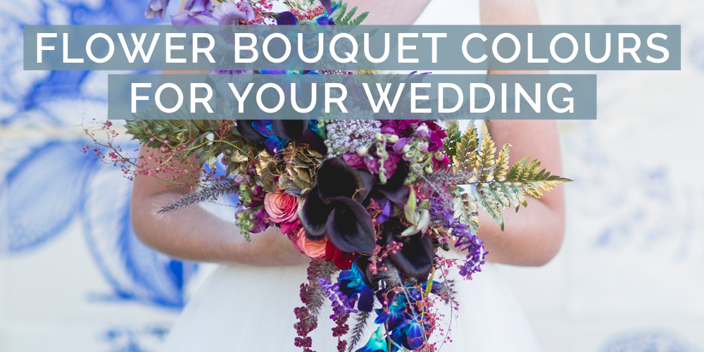 7 Flower Bouquet Colours for Your Wedding