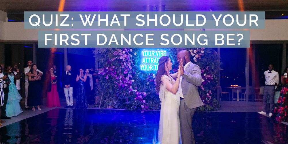 quiz first dance song