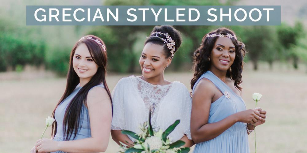Grecian Wedding Inspiration Shoot