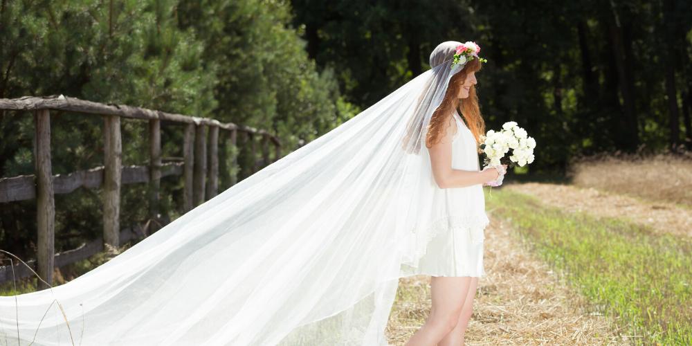 wedding veil styles