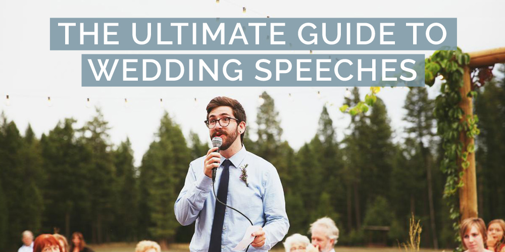 guide to wedding speeches