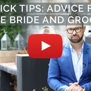 Quick Tips with Aleit: Advice for the Bride and Groom on the Wedding Day