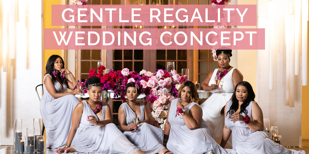 Gentle Regality Wedding Concept Styled Shoot
