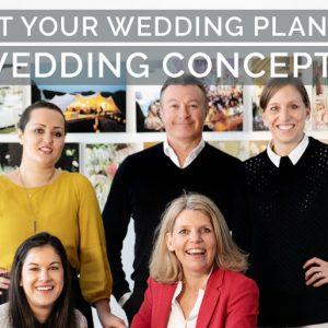 Meet Your Wedding Planner: Wedding Concepts