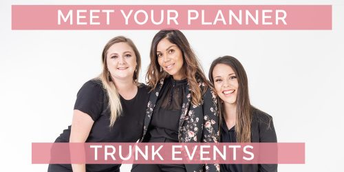 Meet Your Wedding Planner: Trunk Events
