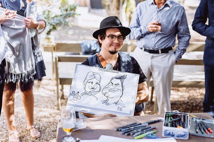 Martinus Caricatures