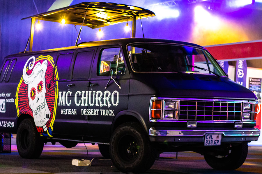 MC Churro Dessert Food Truck