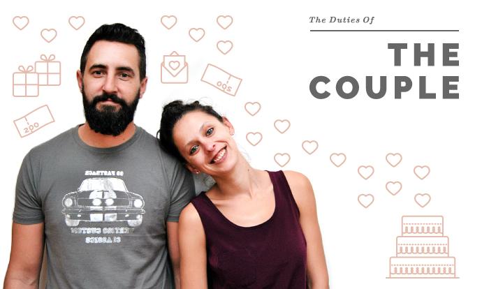 Wedding Duties of the Couple
