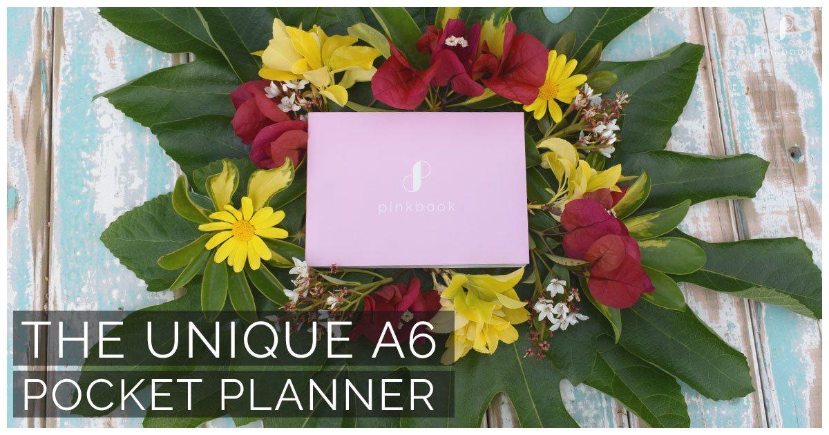 Pink Book Pocket Planner