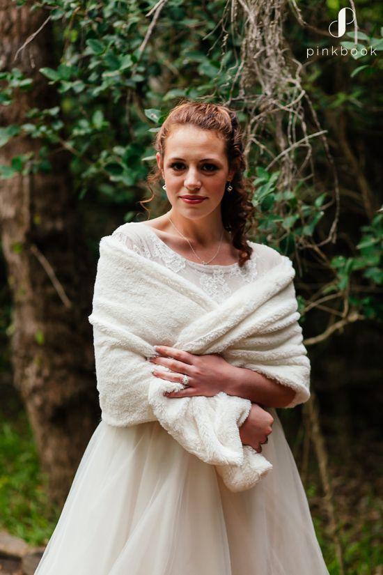 winter wedding faux fur