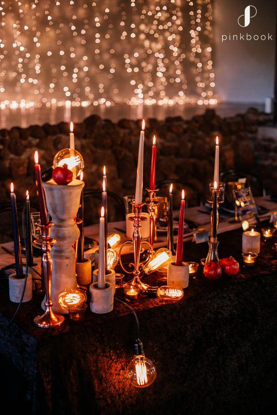 candlelit wedding inspiration